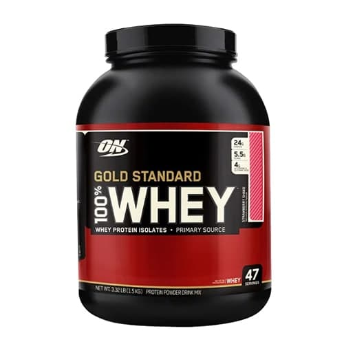 Optimum 100% Whey Gold Standard 1484g фото
