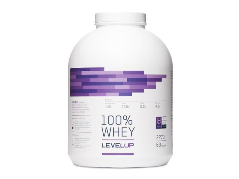 LevelUp 100% Whey 2270g фото
