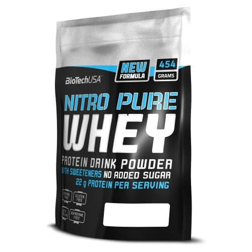 BioTech Nitro Pure Whey 454g bag фото