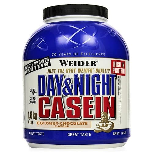 Weider Day & Night Casein 1800g фото