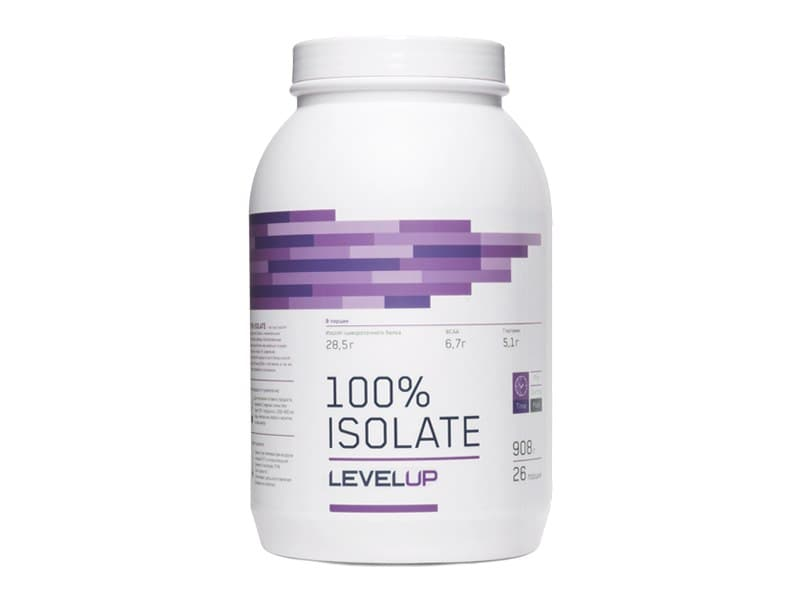 LevelUp 100% Isolate 908g фото