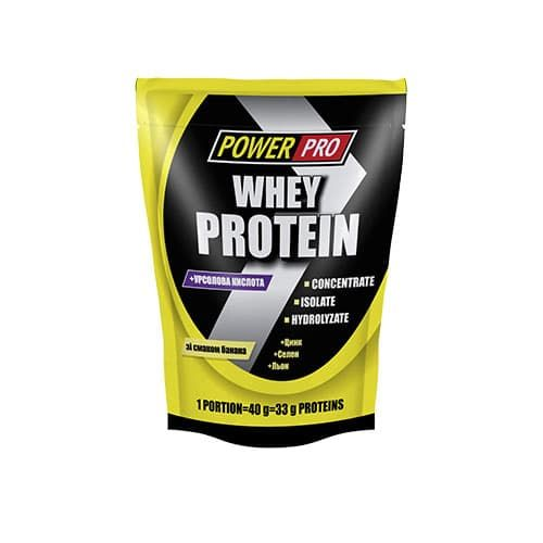 Power Pro Whey Protein 1000g фото